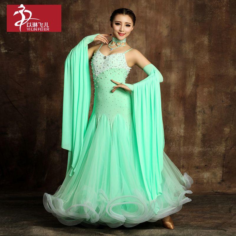Immagini Di Vestiti Da Ballo Big Dance Dresses Modern Dance Costume Waltz Dance Dress