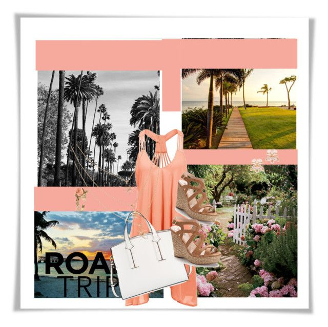 """""""road trip"""" by armsdani ❤ liked on Polyvore featuring French Connection, Vintage, Jennifer Lopez, Kate Spade and roadtrip"""