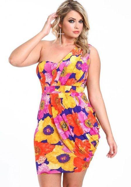 5f3aa562add8 VESTIDOS FLOREADOS CASUALES PARA GORDITAS | moda talla grande ...