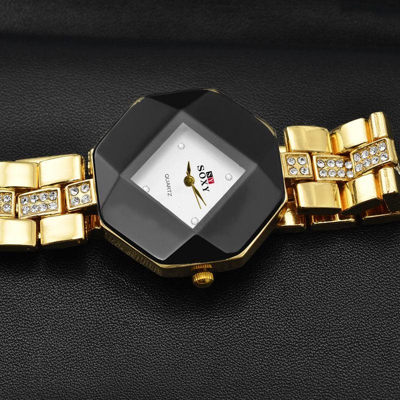 4d5328730f0ab SOXY Luxury Diamond Watch Fashion Gold Watch Women Watches Ladies Watch  Lady Hour Gift montre femme relogio feminino reloj mujer