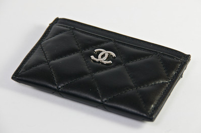 For all your business cards chanel black caviar card holder for all your business cards chanel black caviar card holder reheart Choice Image