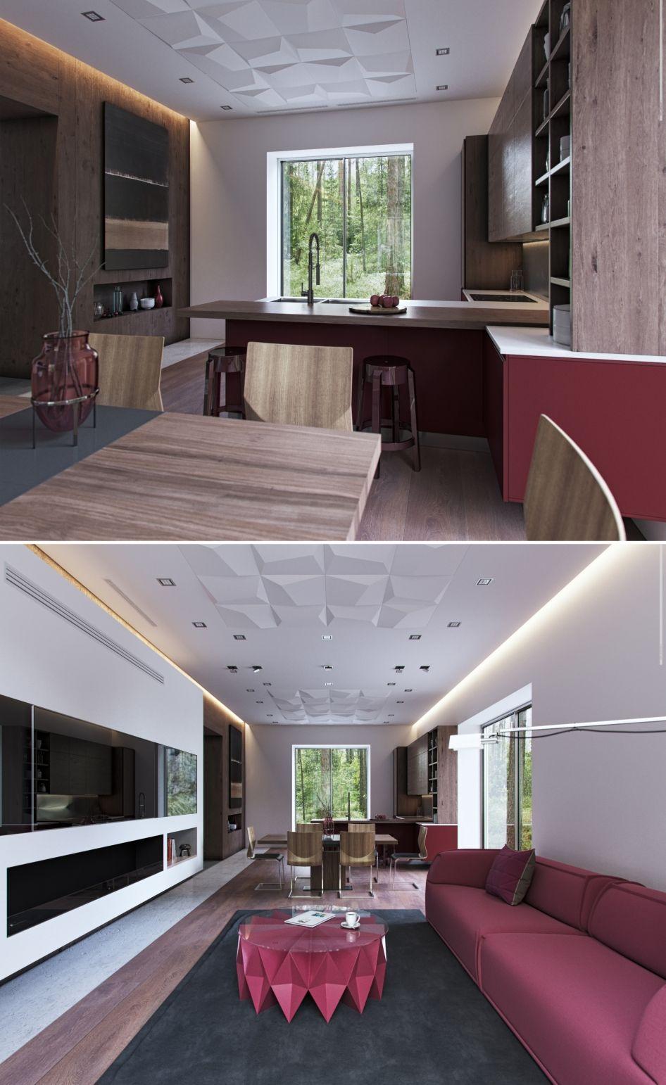 Интерьер гостиной в маленькой квартире: 150 оригинальных ...