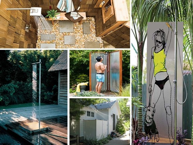 How To Build An Outdoor Shower 5 Diy Designs With 400 x 300