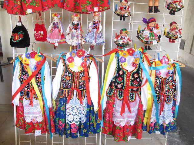 Polish costumes.