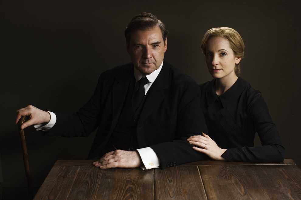 There S An Air Of Tension Here In This Photo Of Mr Bates Brendan Coyle And Anna Bates Joanne Froggatt Will Their Secrets From Last Year Continue To Haunt Downton Abbey