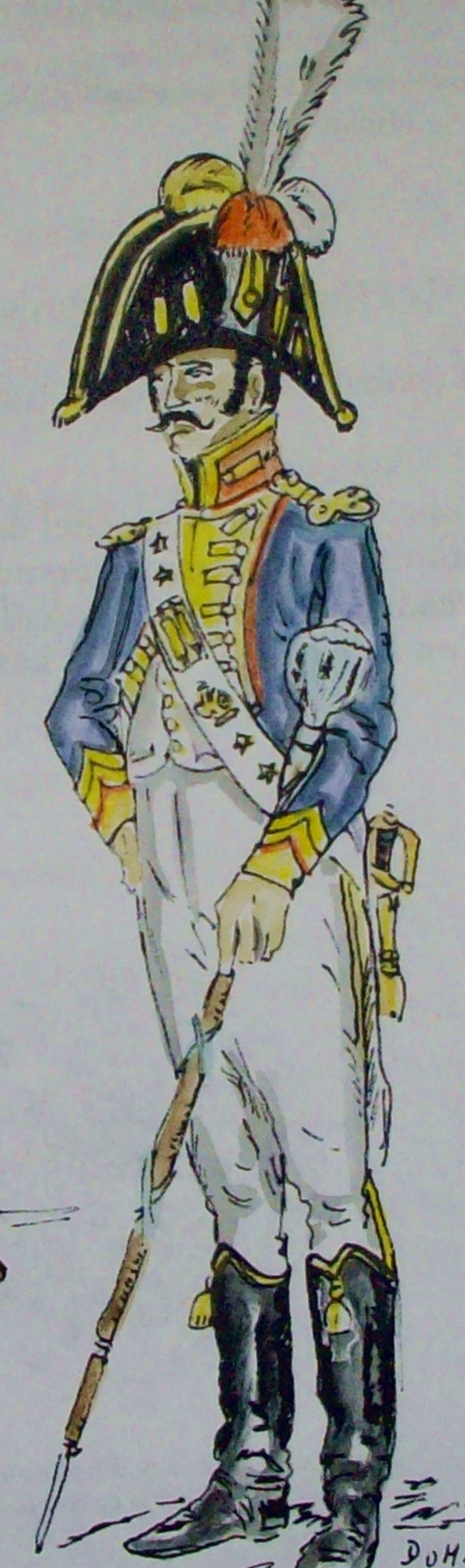 tambour major de la garde d 39 honneur de grenoble uniformes 1 empire france pinterest. Black Bedroom Furniture Sets. Home Design Ideas