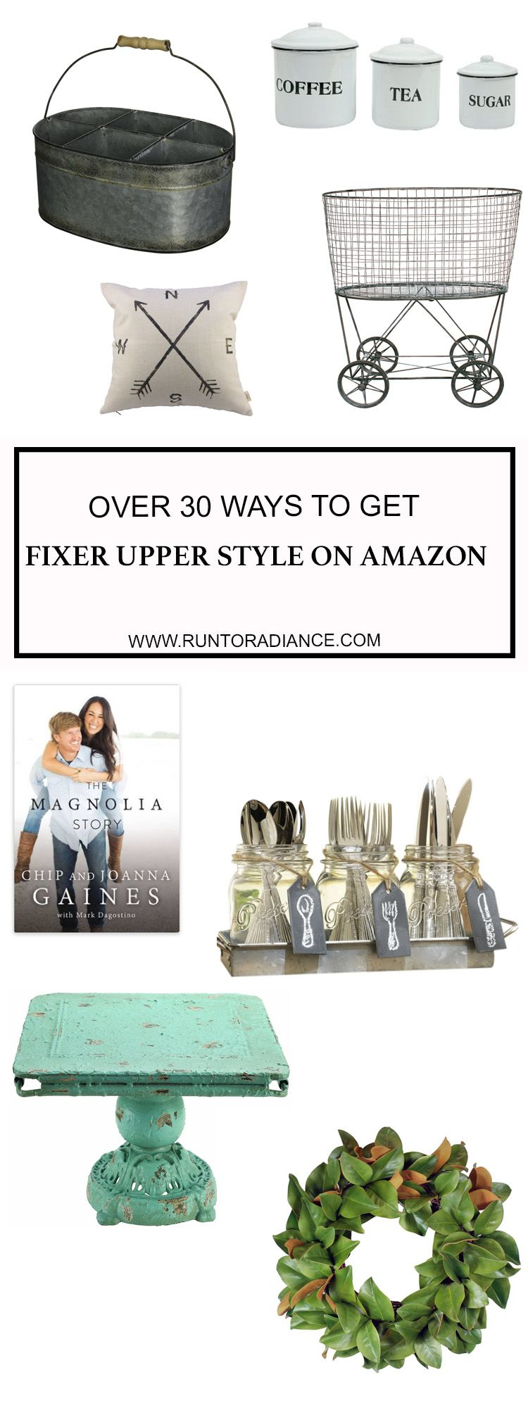 Fixer Upper on Amazon - An easy and quick way to get Fixer-Upper look #fixerupper