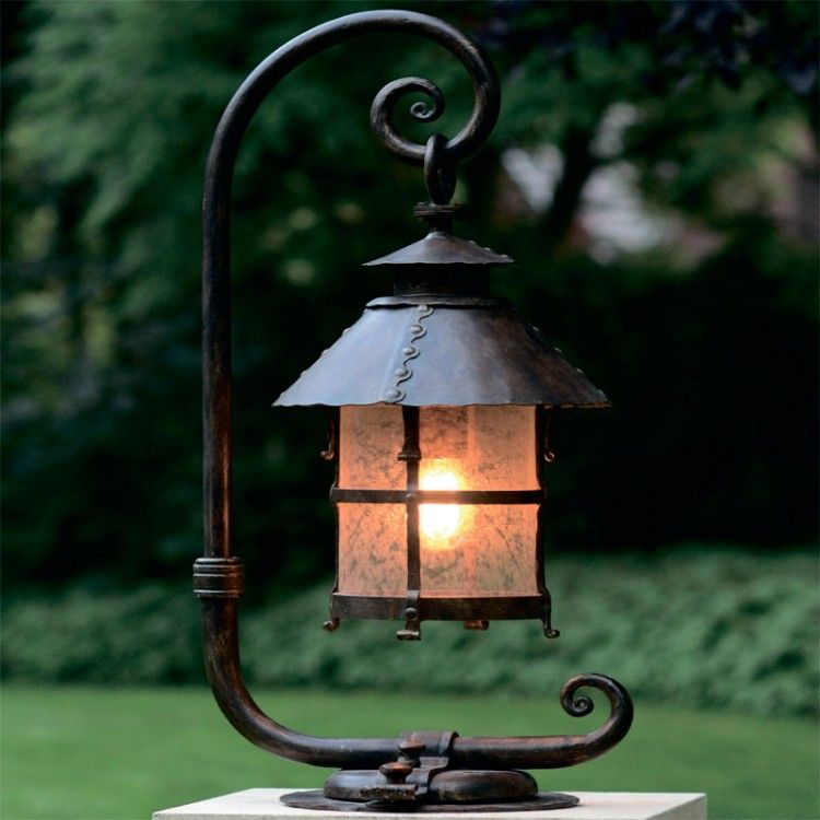 Alex Pedestal Light: Robers Outdoor Pedestal Lamp AL6001 (best From Shop4room