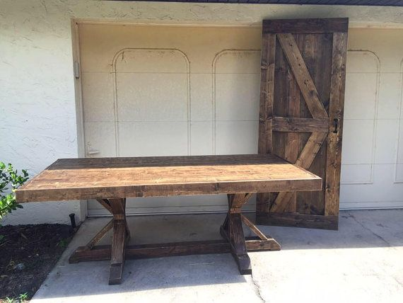 7ft Fancy Farmhouse Table By DanowitDesigns On Etsy