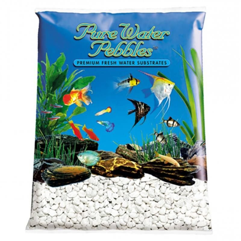 25lb Pure Water Pebbles Aquarium Gravel White Frost Is A Natural Freshwater Aquarium Gravel Substrate Fish Safe 100 Acr Aquarium Gravel Pebble Color Aquarium