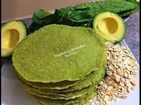 Tortillas de aguacate nopal espinacas avena maseca tortillas de aguacate nopal espinacas avena maseca saludables youtube yeast breaddieting foodsbreakfast tortillavegetarian recipeshealthy forumfinder Images
