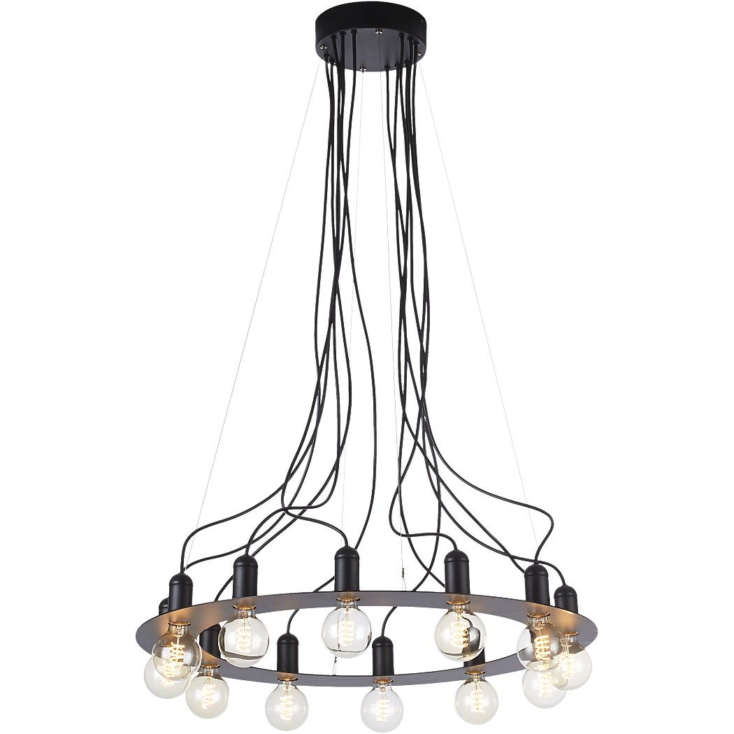 4f848c842a5 Shop radial chandelier. Designer Ceci Thompson lights up the room with a  statement piece sure to steal the spotlight. Crossing the line between  modern and ...