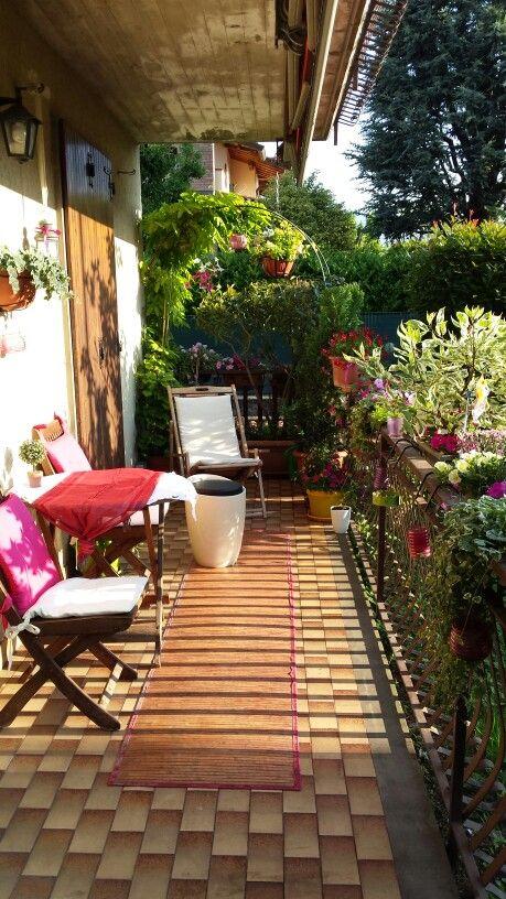 Terrazzo fiorito | Balconi fioriti | Pinterest | Gardens