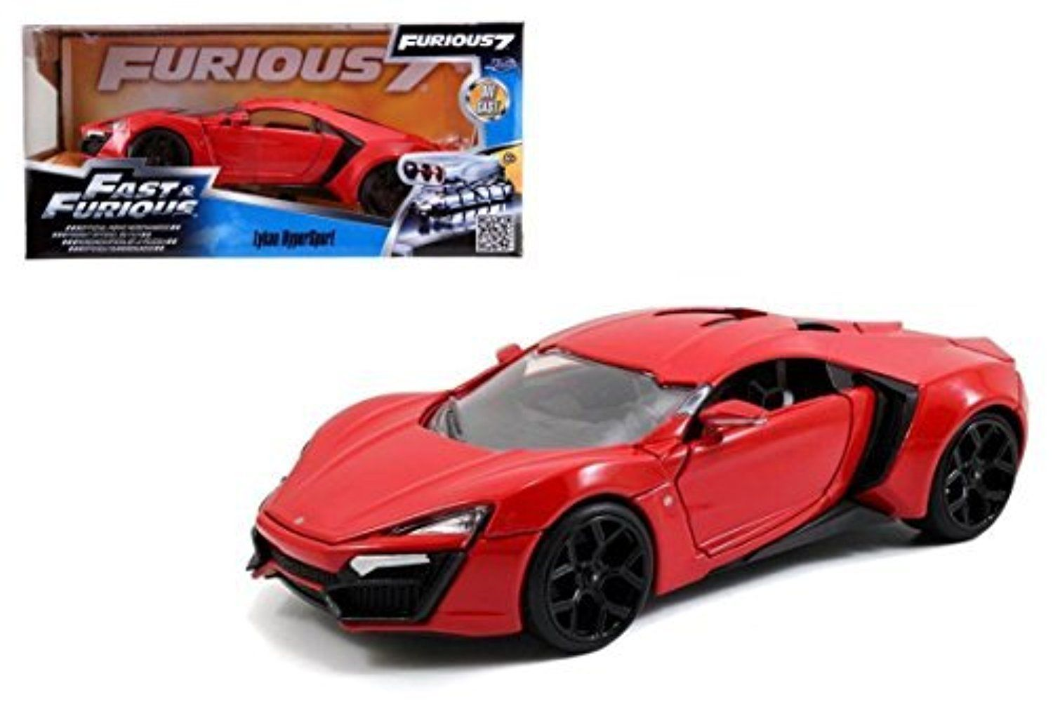 New 1 24 Fast And Furious 7 Lykan Hypersport Diecast Model Car By Jada Toys By Jada Awesome Products Selected By A Diecast Cars Jada Toys Diecast Model Cars