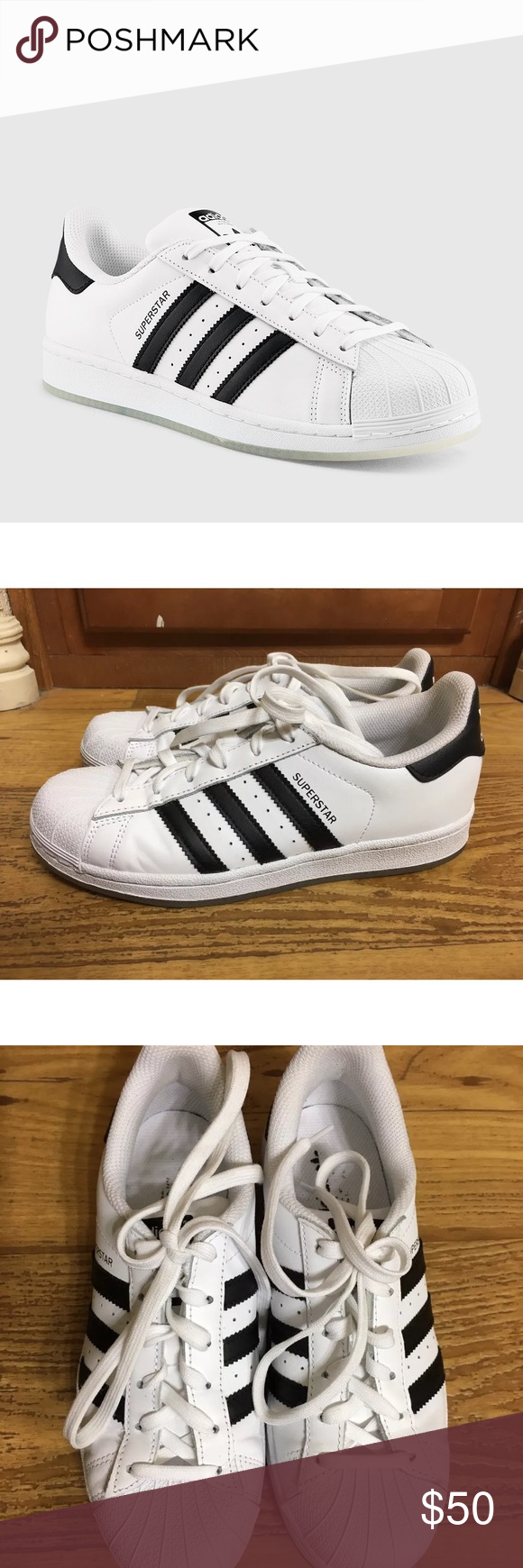 e144670444c4 Adidas Men s Superstar Iced Shoes These are almost new ADIDAS MEN S  SUPERSTAR ICED (WHITE