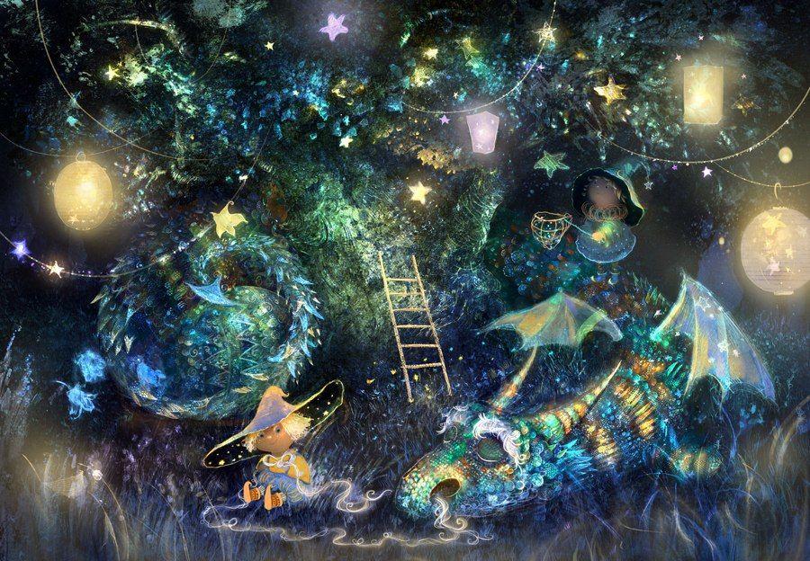 Пожеланием хорошего, сказка на ночь картинки красивые