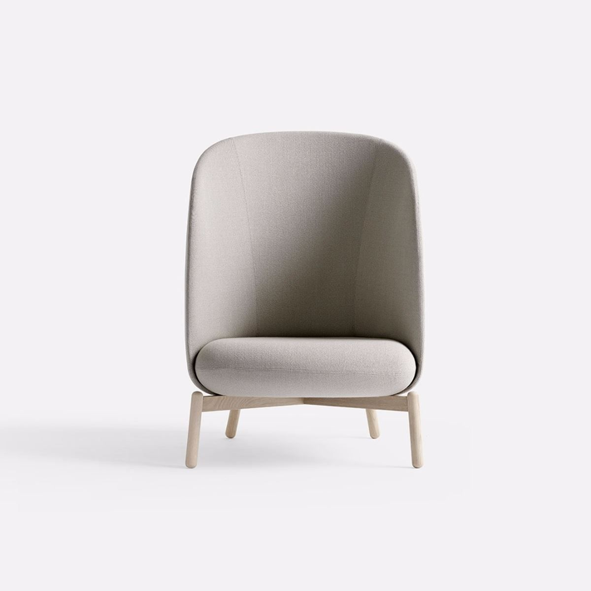 Rama for palau 2016 lounge chair - Easy Nest Wood By Form Us With Love For Plus Halle
