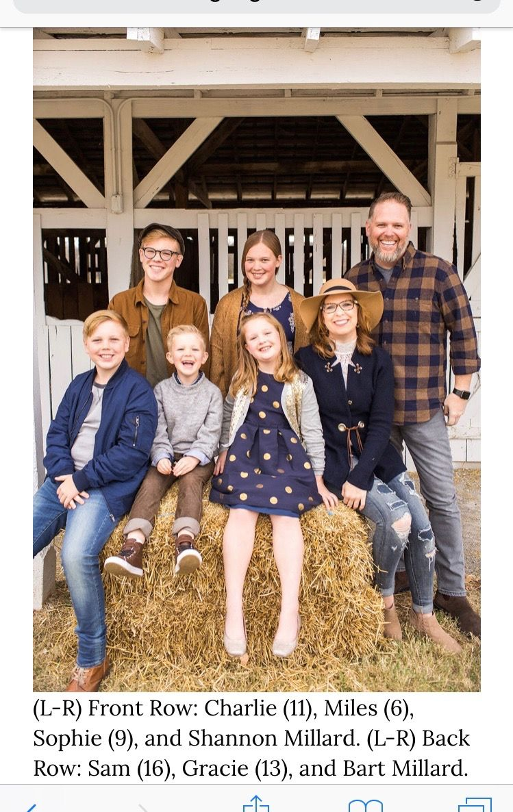 Bart Millard Family I Can Only Imagine With Images