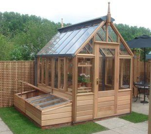 Love the greenhouse and the cold frame Brilliant greenhouses