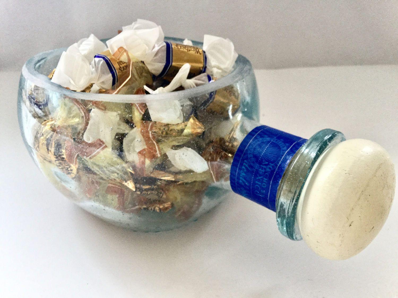 don julio tequila cut bottle ashtray snack dish terrarium candle, Innenarchitektur ideen