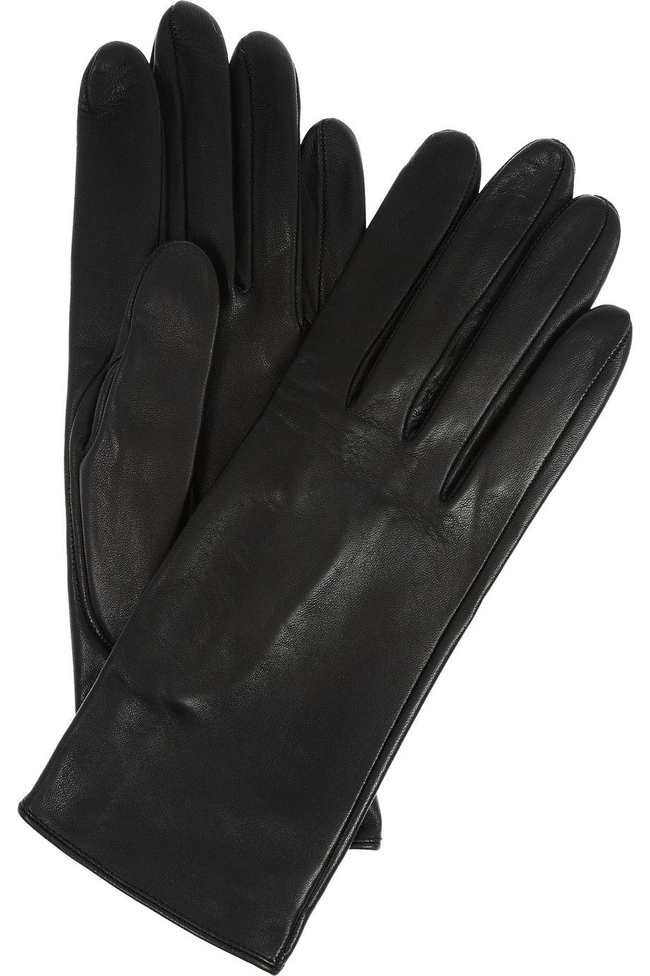 It is important that gloves fit perfectly—especially at the fingers. Wear them with three-quarter length jackets for a safer option.  Alaïa | Leather gloves