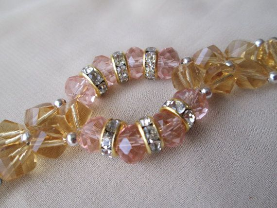 Stunning Swarovski bracelet beaded with genuine crystals by xabid, $38.00