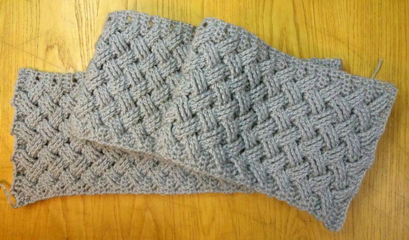 Tuto points entrecroisés. | Crochet Aran | Pinterest