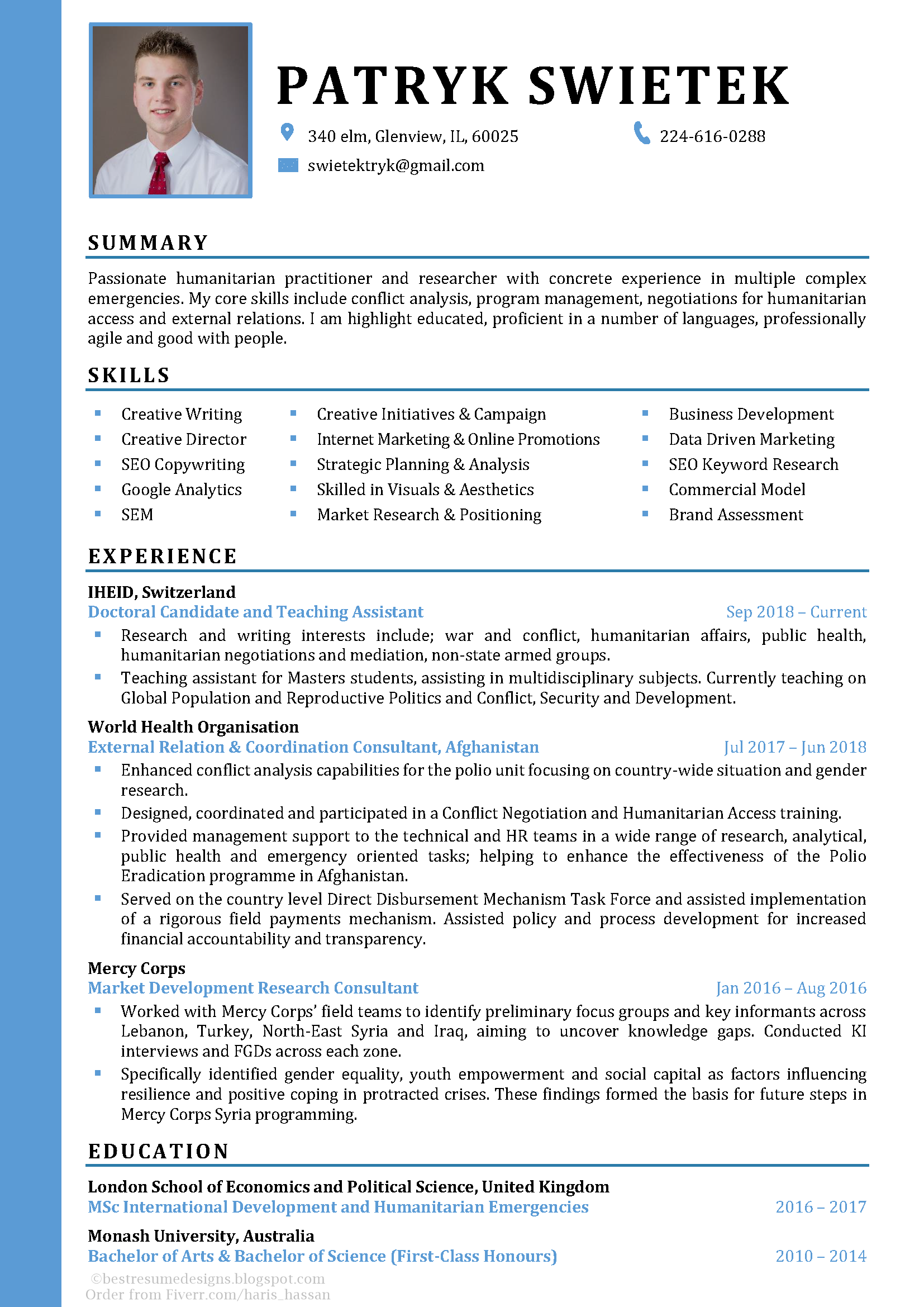 Cv Design No 5 Professional Resume Examples Resume Examples Career Motivation