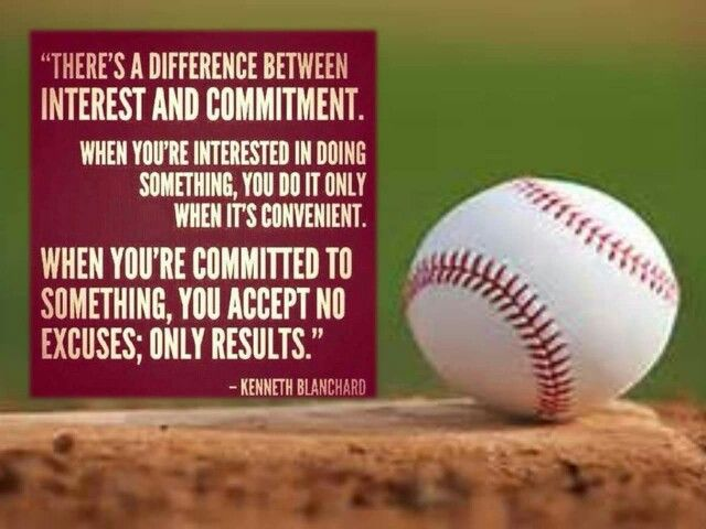 Are You Committed Baseball Quotes Sports Quotes Sport Quotes