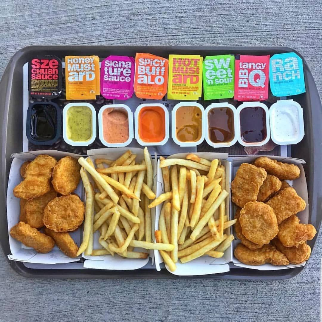Which Sauce Would You Pick First Pic B