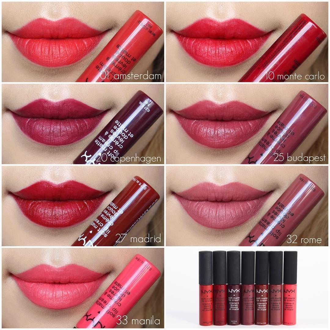 Célèbre nyxcosmetics Soft Matte Lip Cream #nyxcosmetics #lipcream  IB23