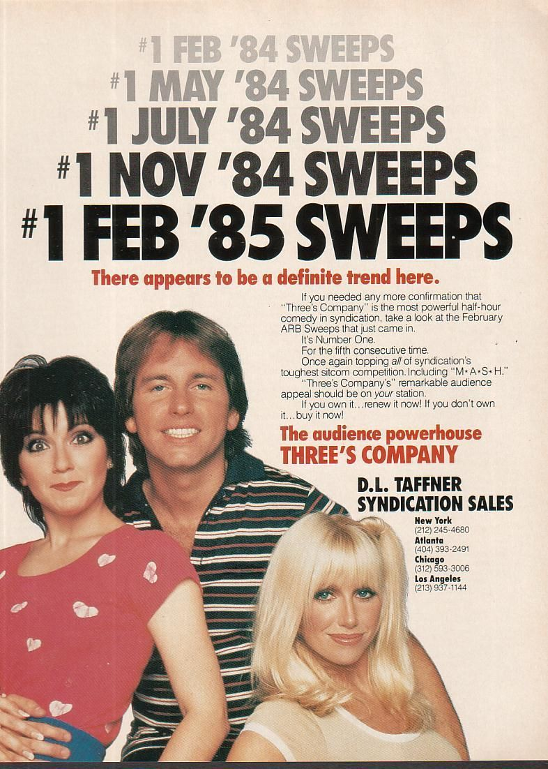 Idea By Jessica Halleck On Come And Knock On Our Door Abc Tv Shows Three S Company Three S Company