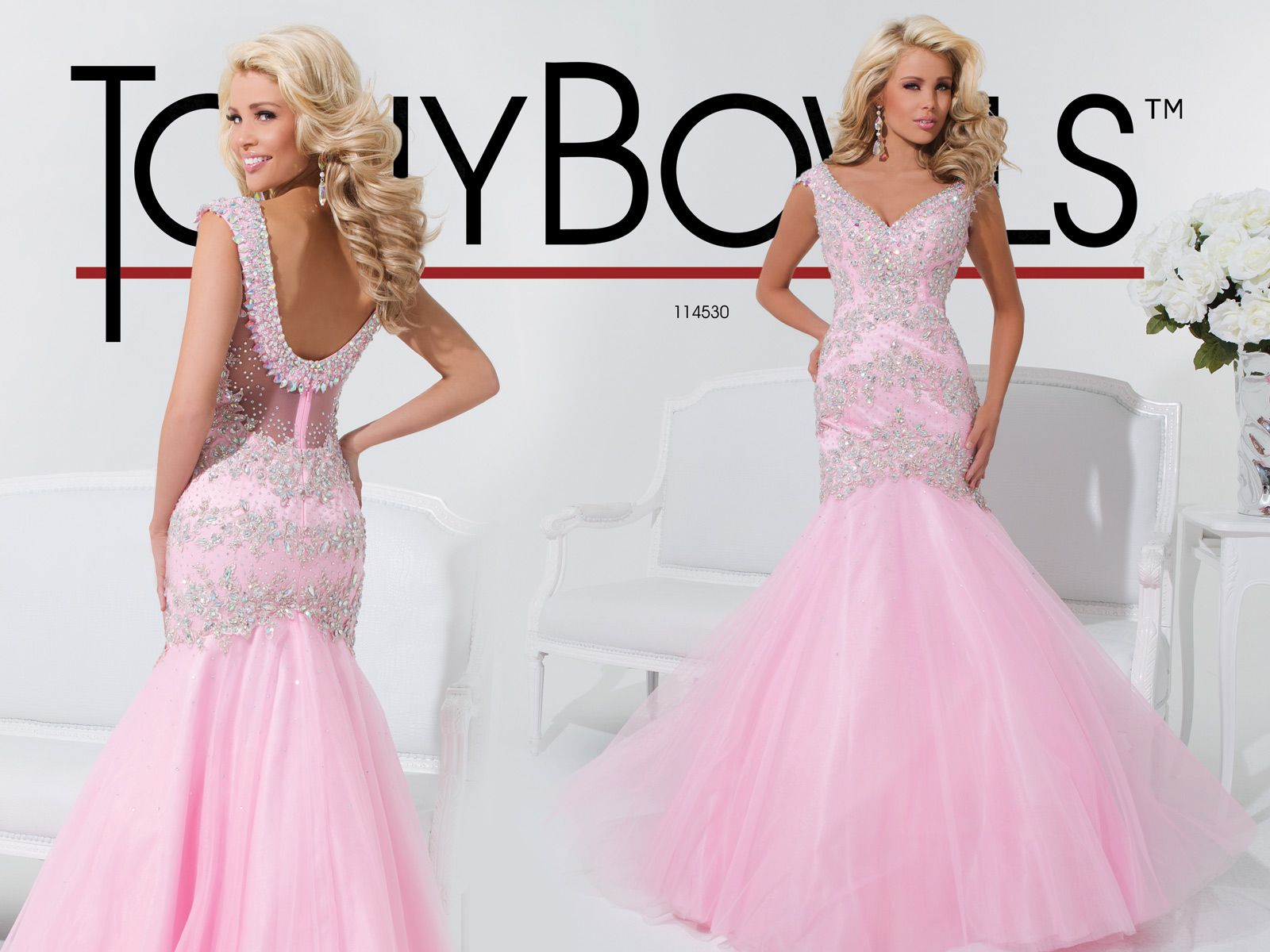 Tony Bowls Le Gala » Style No. 114530 Pretty in pink prom dress ...