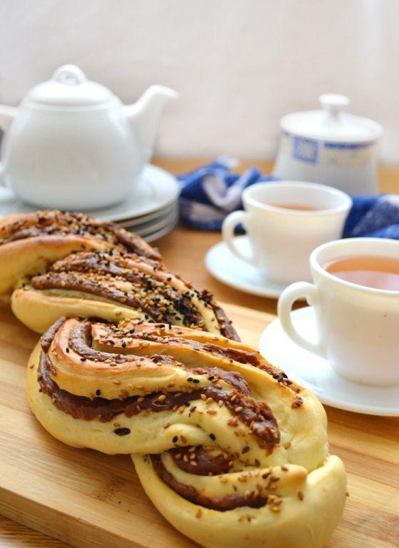 طريقة عمل خبز التمر بالصور ضفيرة التمر الشهية Date Bread Recipes Food