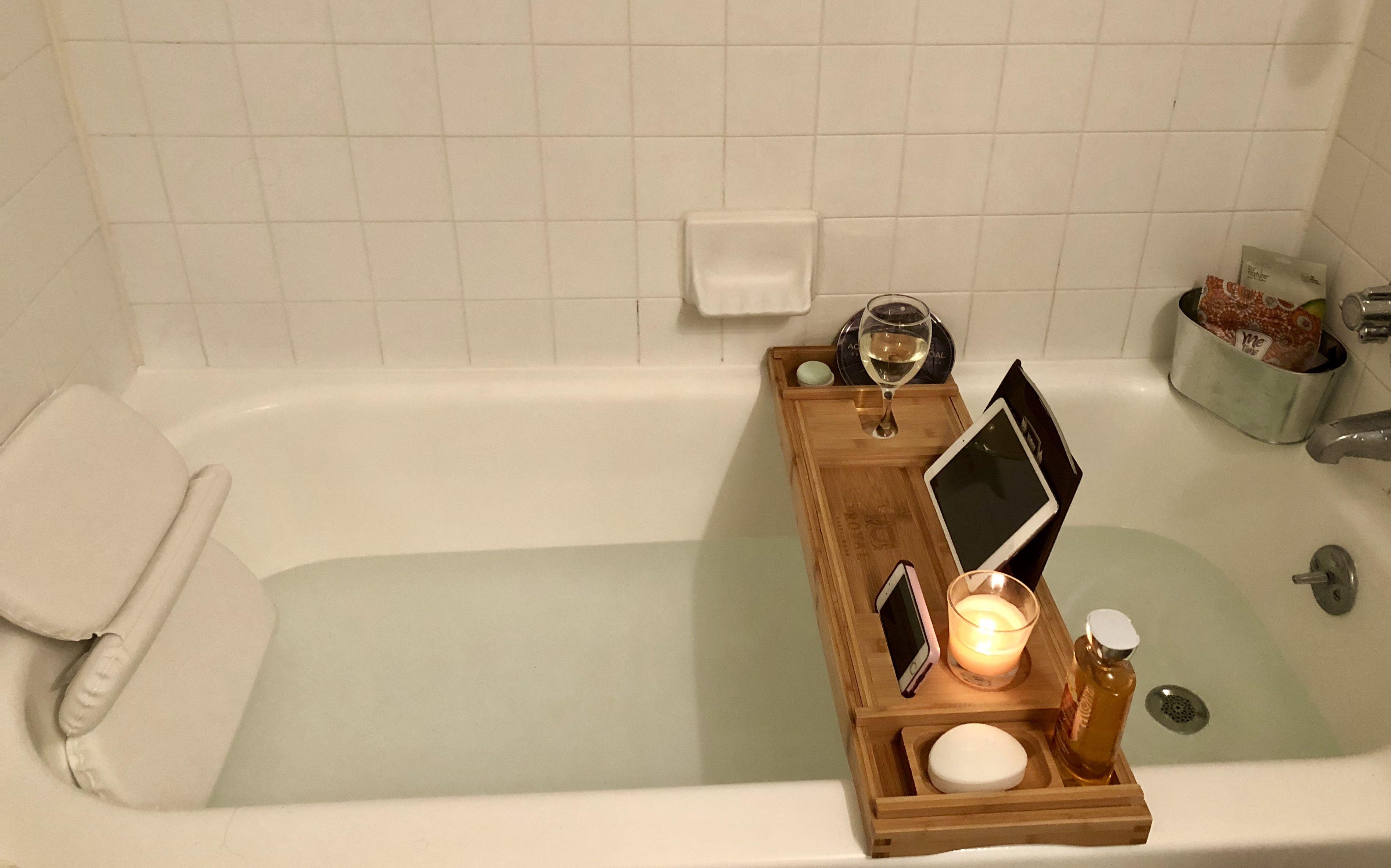 Bathtub Tray And Bath Pillow Bathtub Accessories