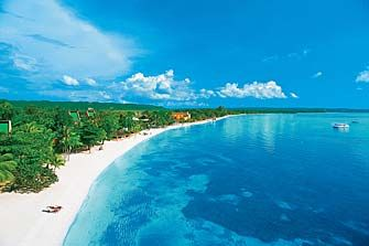 Seven Miles Of White Sand Beach Nowehnuhbettadanyaad Jamaica