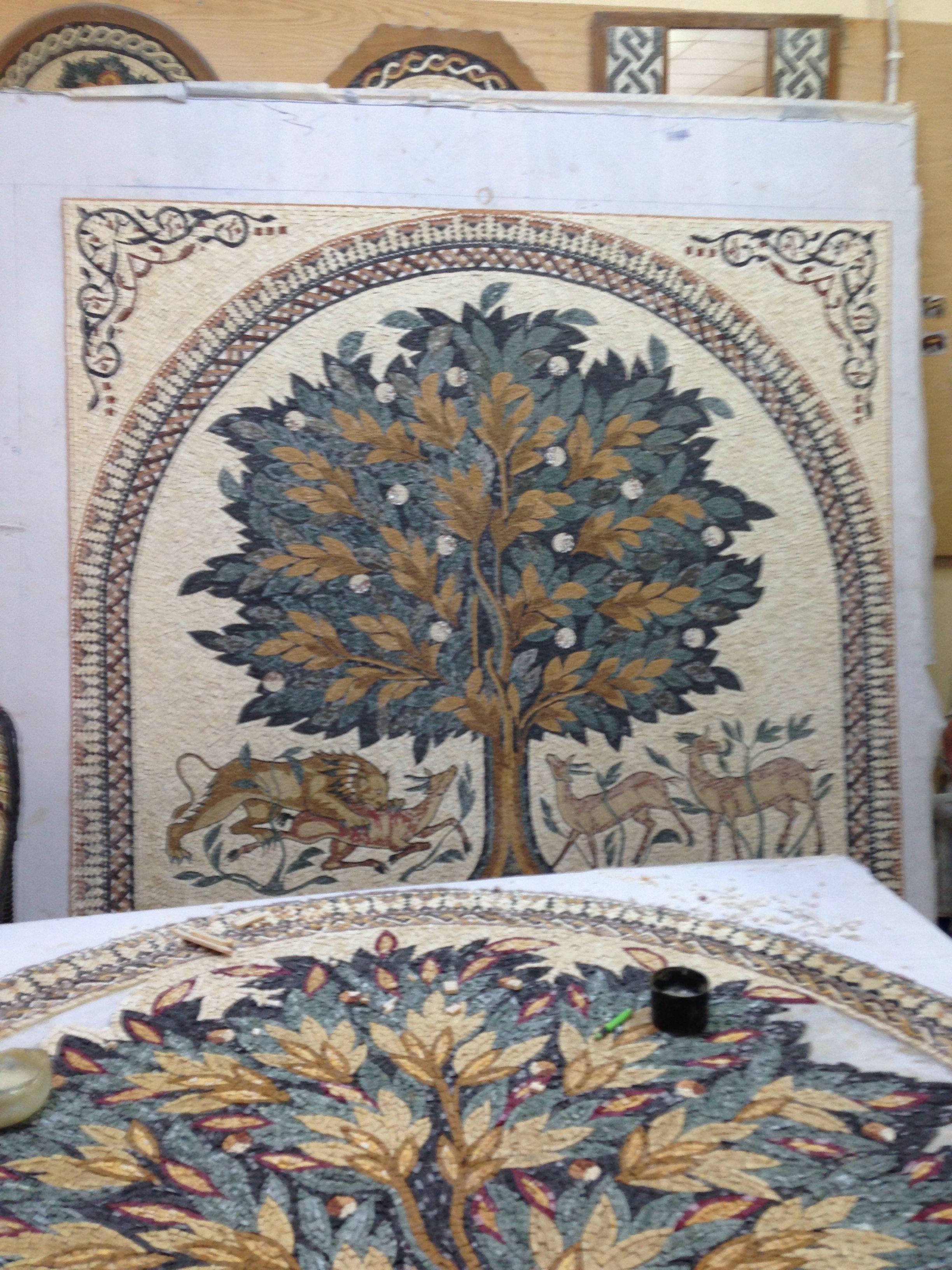 uk availability online here detailed pictures Mosaic in Madaba, Jordan   Mosaic   Mosaic, Feelings, Jordans