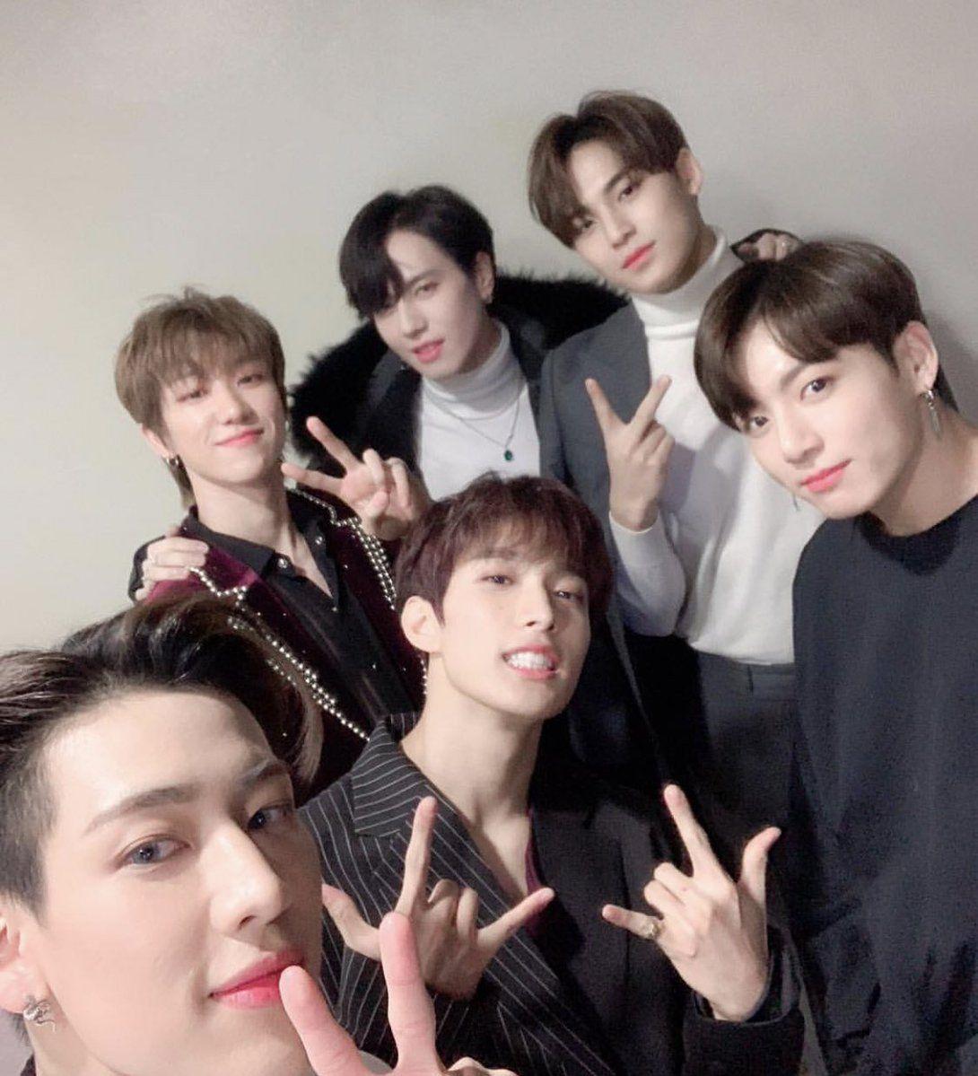 Jungkook With His 97 Line Friends Yugyeom Jungkook Jungkook Mingyu