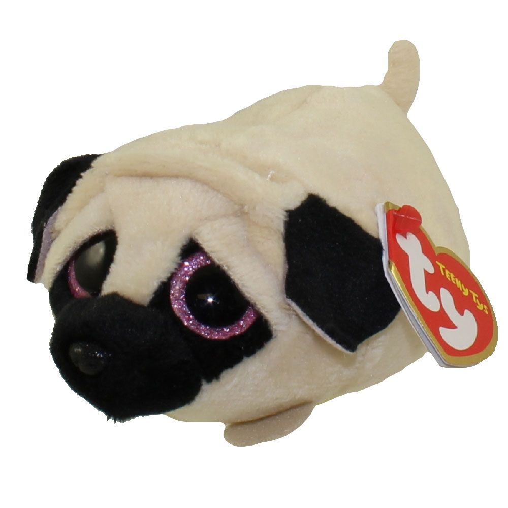 TY Beanie Boos - Teeny Tys Stackable Plush - CANDY the Pug (4 inch ... 678f3e5a042a