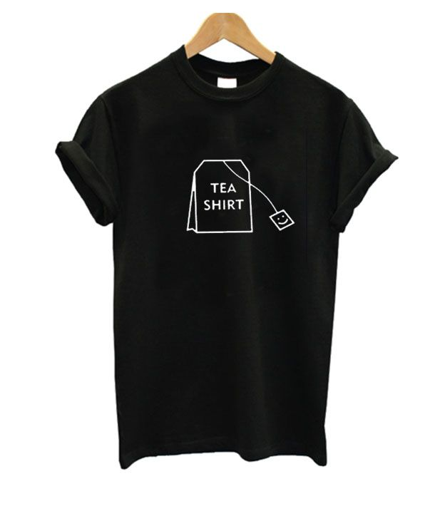 12f0edf5b Tea Print T Shirt from clothzee.com This t-shirt is Made To Order, one by  one printed so we can control the quality.