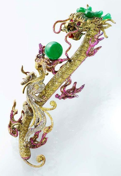 Wallace Chan SPARKLE Pinterest Fantasy jewelry Brooches and