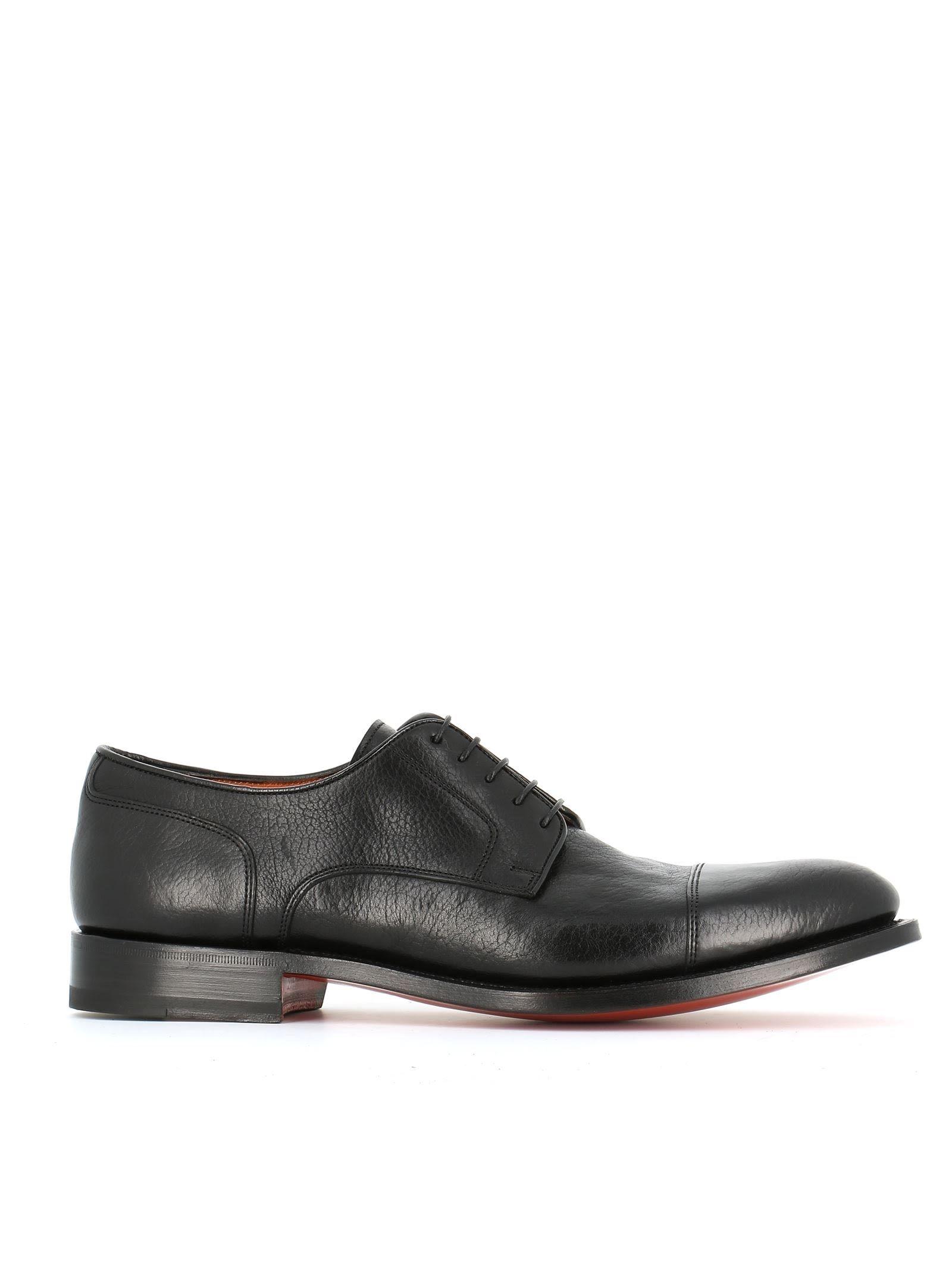 Chaussures Derby Classique - Marron Santoni ViMV5b