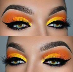 Tutorial Makeup: Ojos de color amarillo vibrante