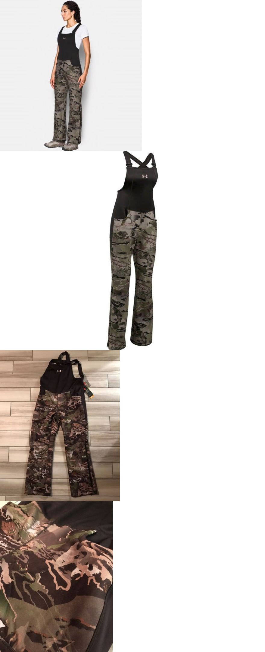 565ea1fa9d9f5 Clothing Shoes and Accessories 36239: Under Armour Hunting Bib Women Size  Large Mid Season Ua Camo Ridge Reaper Forest -> BUY IT NOW ONLY: $62.95 on  #eBay ...