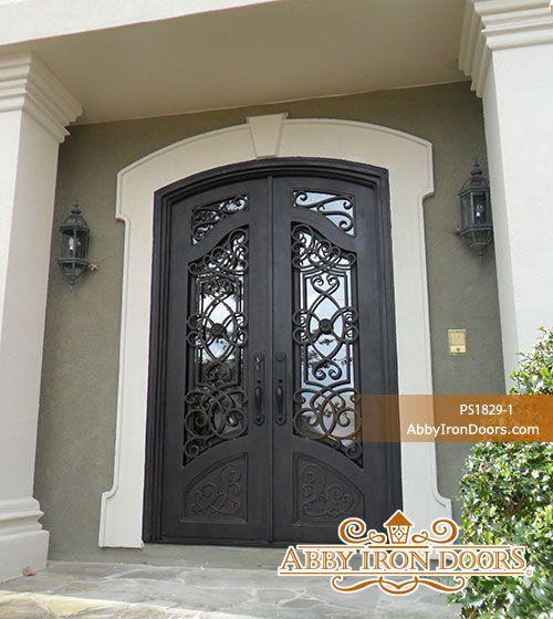 Abby Iron Doors & Abby Iron Doors | Doors | Pinterest | Iron doors Irons and Popup pezcame.com