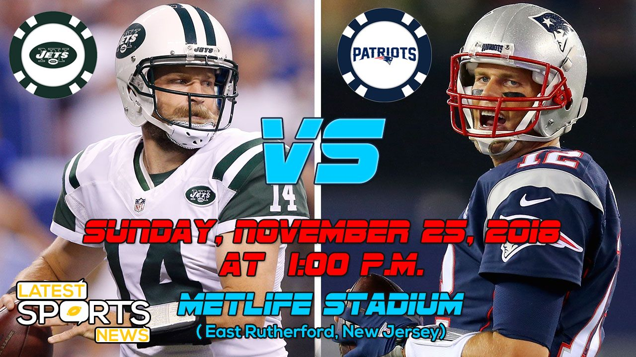 Jets Vs Patriots Highlight Match Of Week 12 In Nfl Matchup Game Info Live Prediction Nfl Matches Sports Highlights Jets Vs Patriots