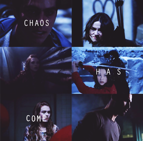 Chaos Has Come.