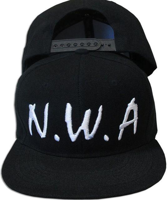 2017 USA B Super Fashion Newest N.W.A Snapback Caps Letter Men Women  Baseball Cap NWA Cap Hat Compton Niggaz Hip Hop Hats cb01d74db971