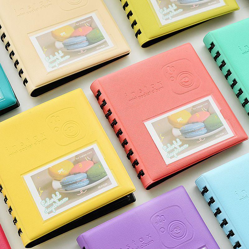 Pas Cher 68 Poches Photos Album Mini Bonbons Couleur Style Livre