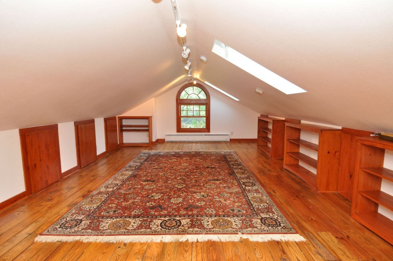 attic idea | Attic renovation, Low ceiling, Remodel bedroom